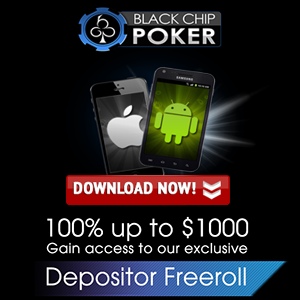 Black Chip Poker Mobile App for iPhone and Android | Black Chip poker