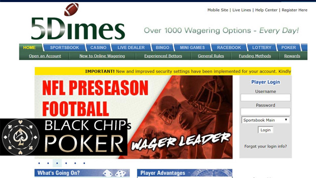 5Dimes Sports Betting Review 2018